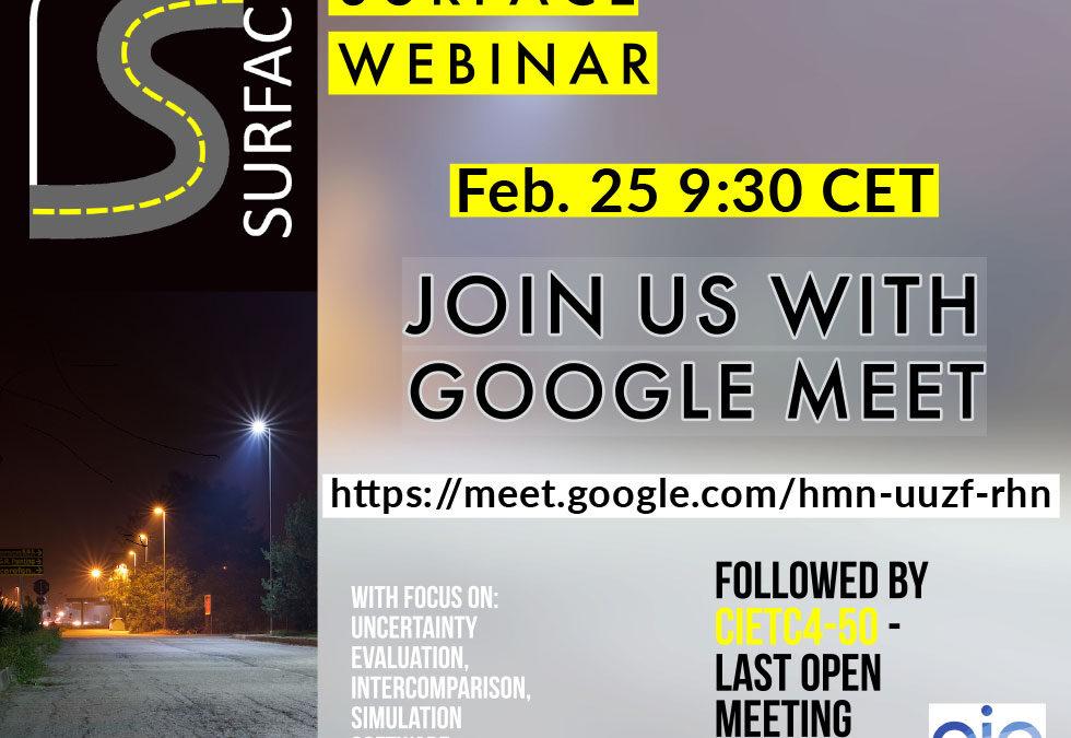 Fourth webinar, 25 February 2021